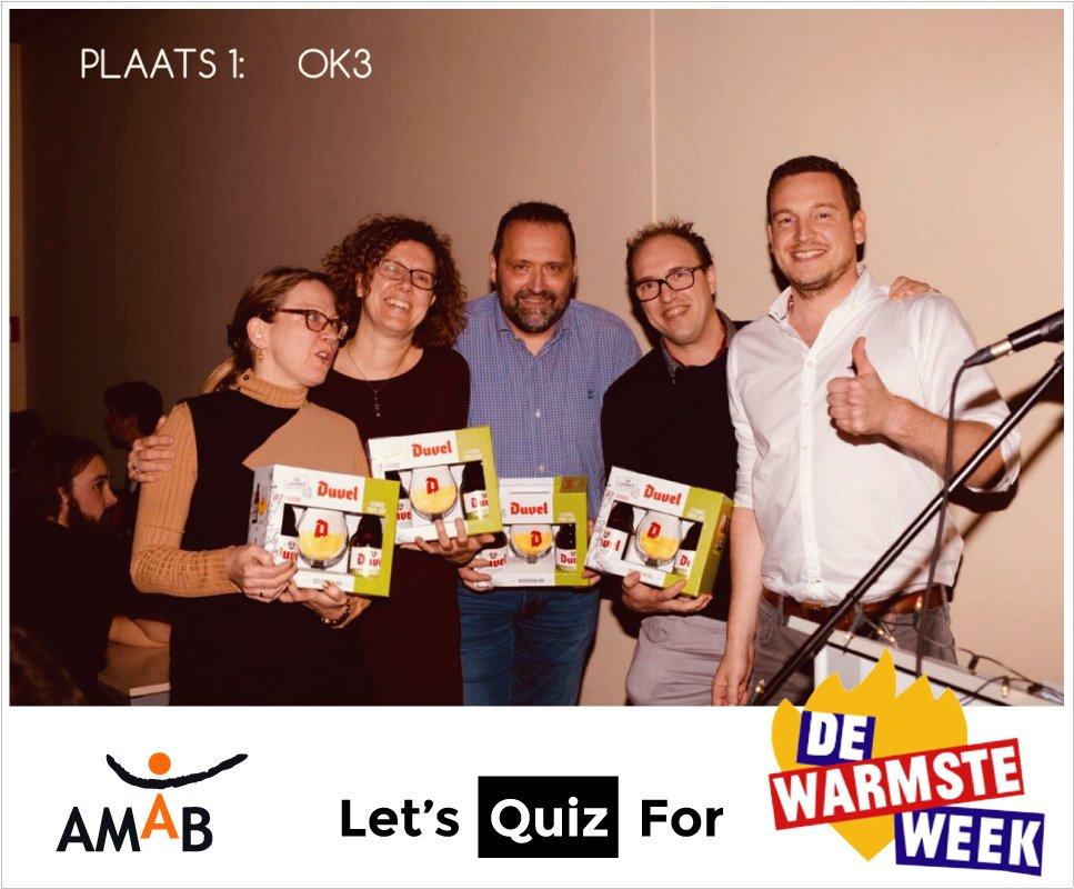 Quiz AMAB Warmste Week 2019