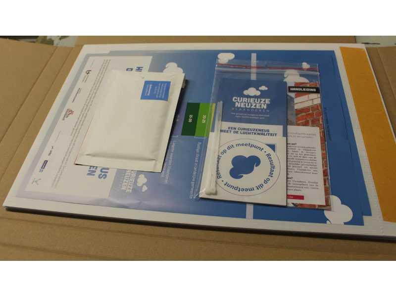 Samenwerking AMAB Curieuzeneuzen: samenstelling pakket