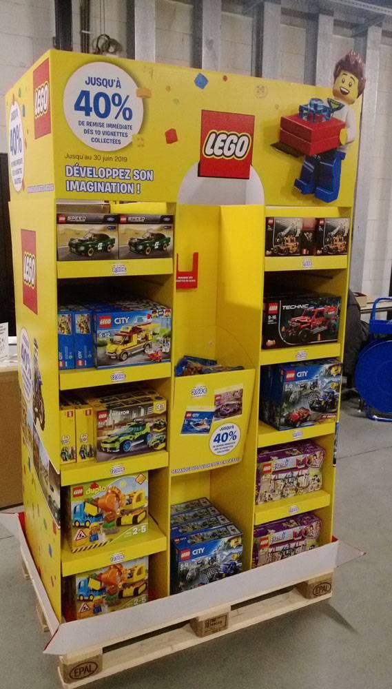 Display actie Lego