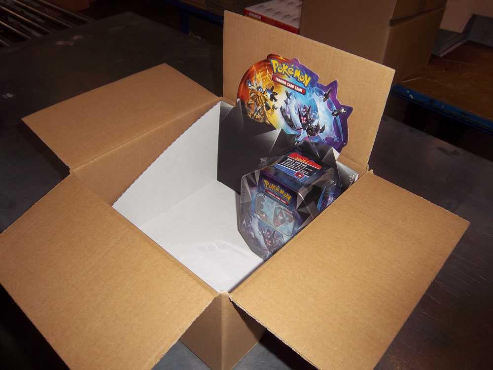 Verpakking op maat Pokemon