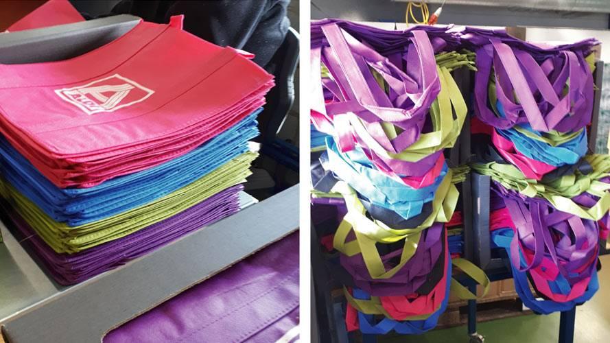 promo boxen of goodie bags vullen Aldi
