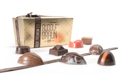 Ballotin chocolates box