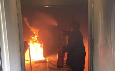 Opleiding brandbestreiding AMAB