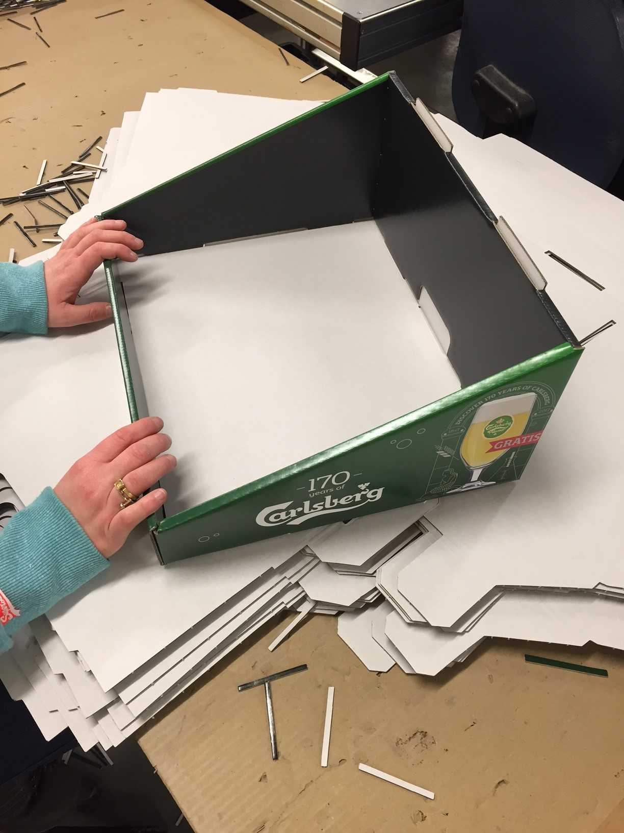 Case display verpakking Carlsberg