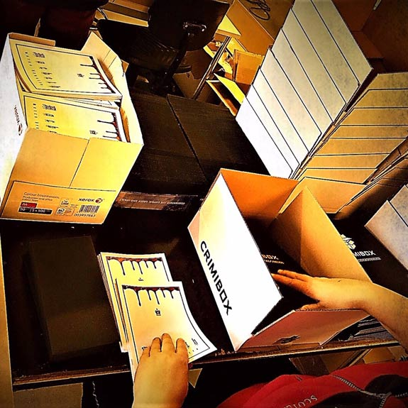 Crimibox assemblage door Maatwerkbedrijf AMAB