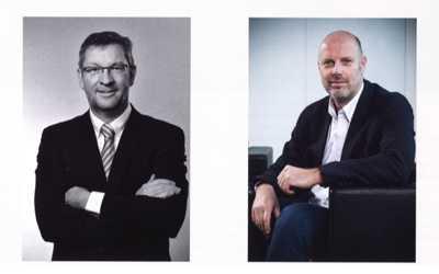 Danny Saerens en Peter Vandenheulen