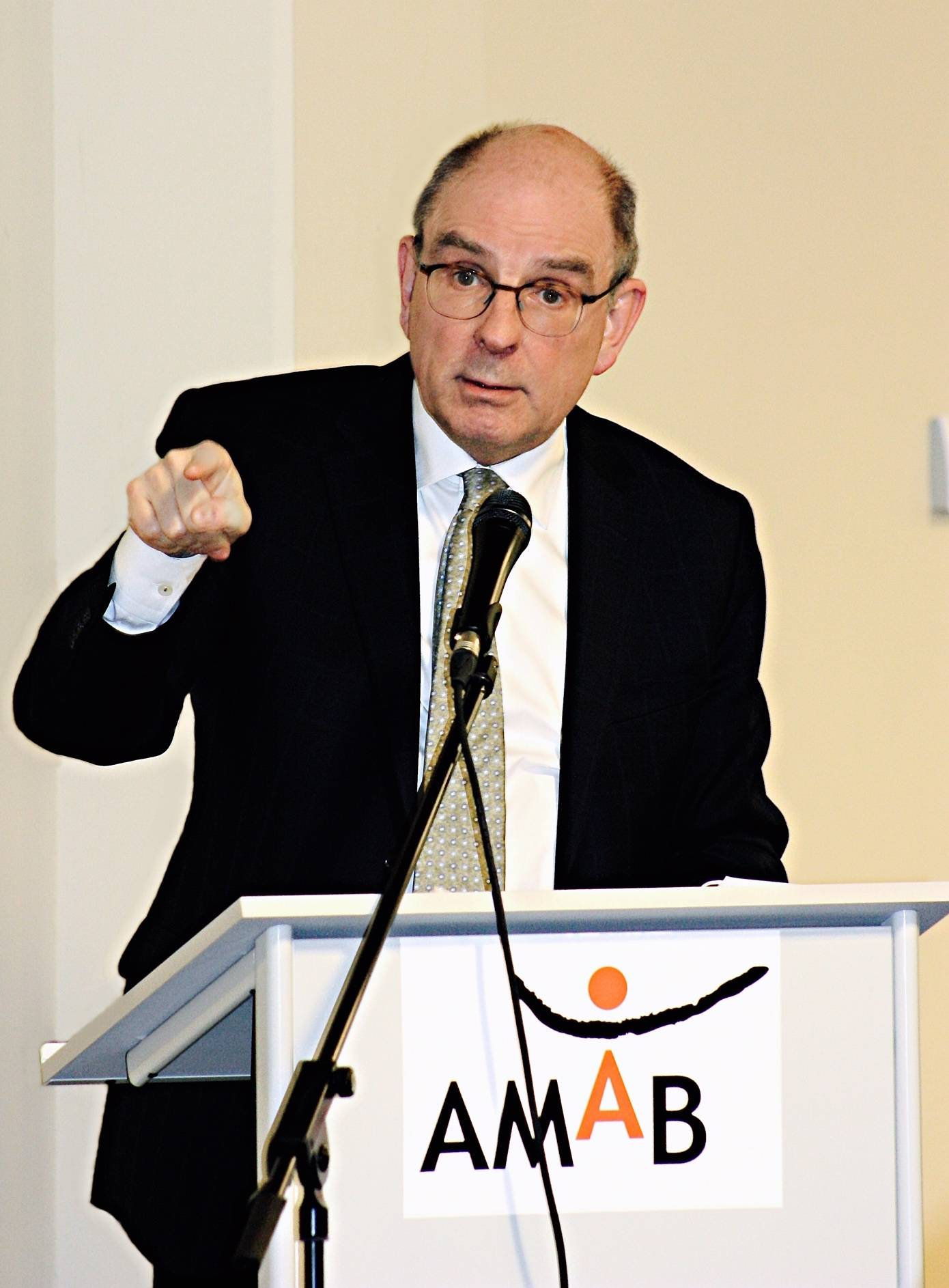 Minister Geens bij AMAB