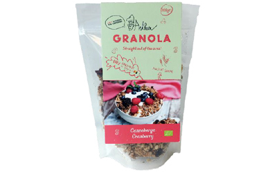 AMAB verpakking doypack granola