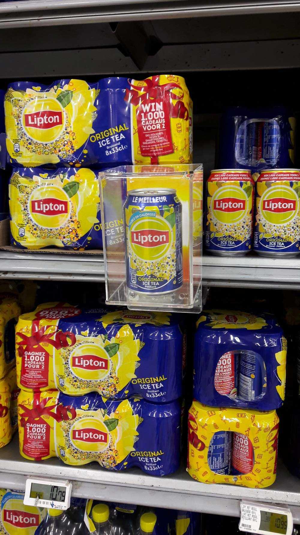 Case verpakking op maat: Lipton Glorifier