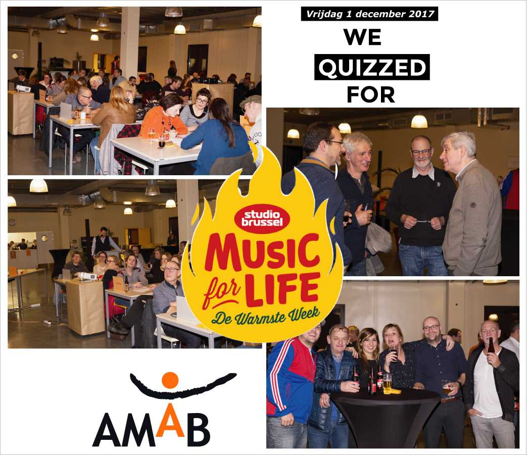 AMAB quizt ten voordelen van music for live