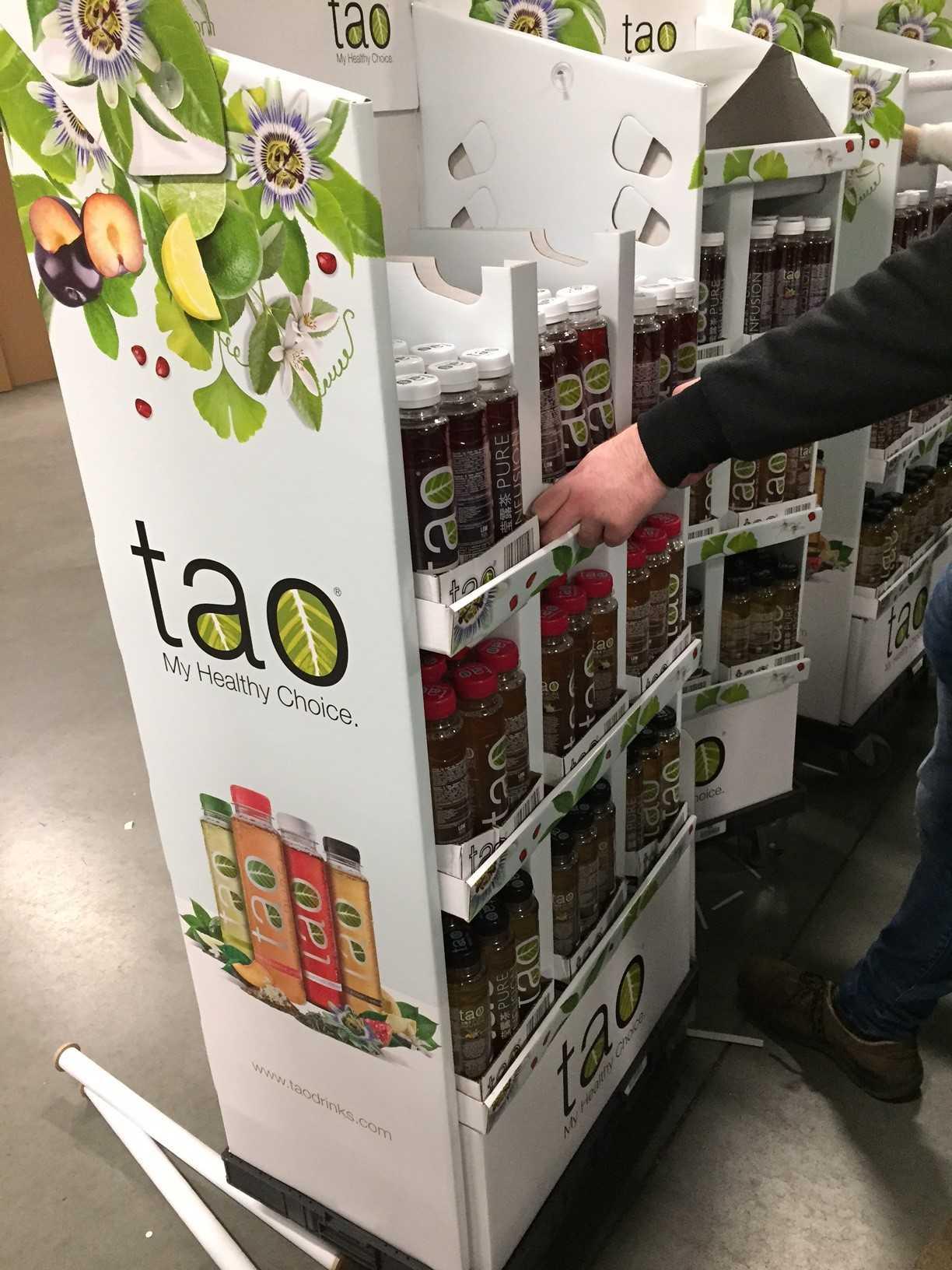 Case verpakking op maat: TAO displays